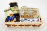 Four Flavor Gift Basket with Jam and Devon Cream