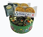 Deluxe Round Holiday Tin
